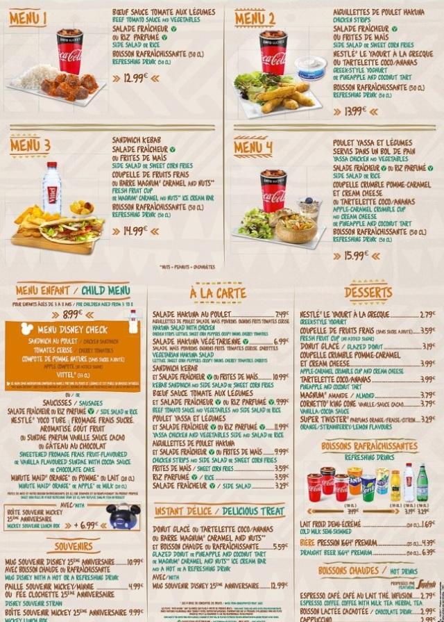 Disneyland-Paris-Restaurant-Menus-2017-Hakuna-Matata-2